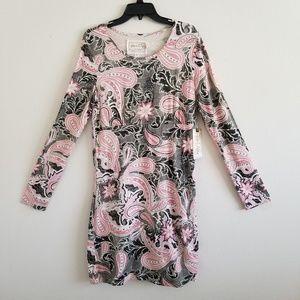 Aventura Long Sleeve Paisley Dress